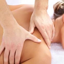 50 min. fysiurgisk massage af nakke, skuldre, ryg og lænd