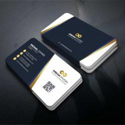 Visitkort- Kreativ, moderne og professionelt business kort design